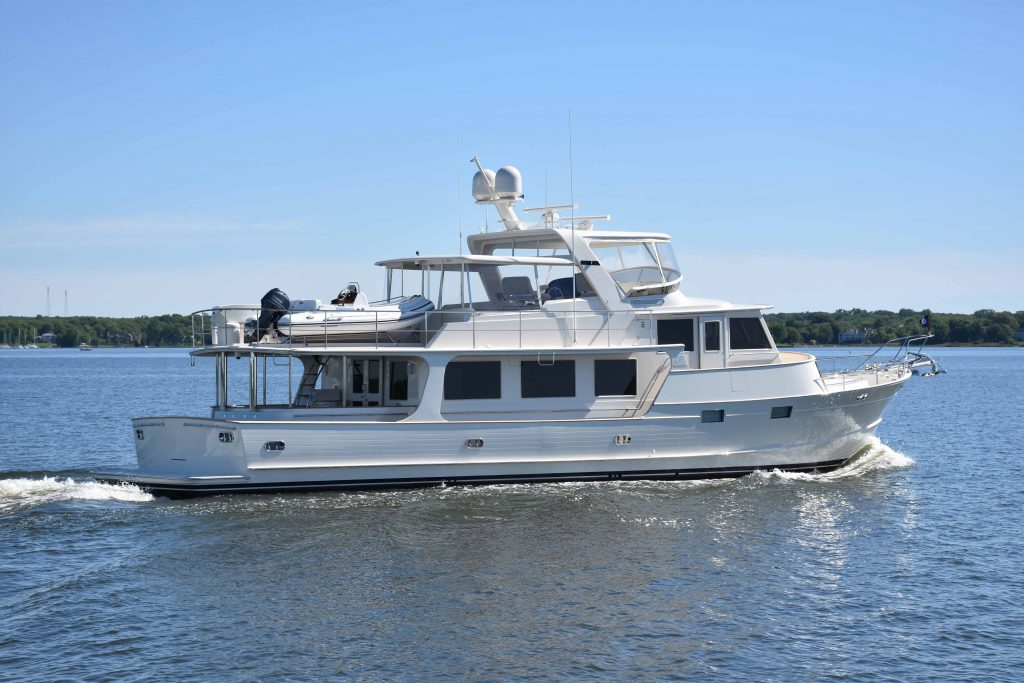 New Fleming Outfitting Update - June 2017 - Burr Yacht Sales